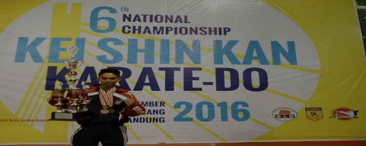 Juara I Karate Se Indonesia